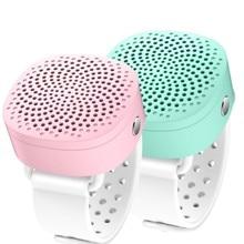 Music Player Speaker Bluetooth Speaker Watch Wristband Wireless Sports Wearable Loudspeaker With Mic
