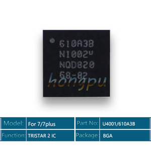 Image 1 - 5 יח\חבילה 610A3B/U4001 U2 IC 36 סיכות עבור iphone 7/7 בתוספת/7 בתוספת USB מטען/ טעינה TRISTAR 2 IC שבב