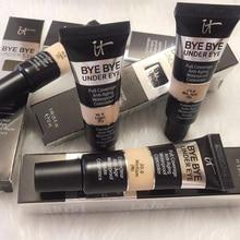 12pcs/lot Eyes Dark Circle Matte Concealer Cream it cosmetics it bye bye under eye full coverage anti-aging waterproof concealer