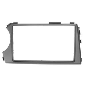 Image 4 - 2DIN Radio Fascia for SSANG YONG Actyon LHD Left Hand Drive Facia Dash CD Trim Installation mount Kit facia frame panel