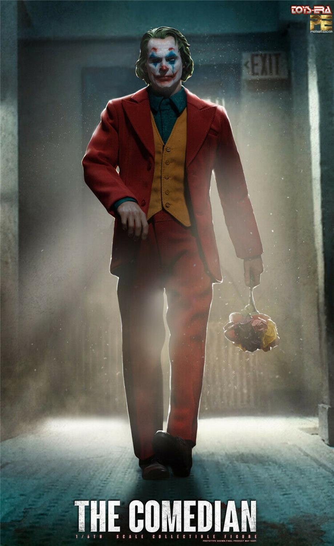 Pré vente jouets ERA PE004 le comédien 1/6 Joker Clown Joaquin figurine avec 3 têtes sculpter corps ensemble complet figurine poupée - 4
