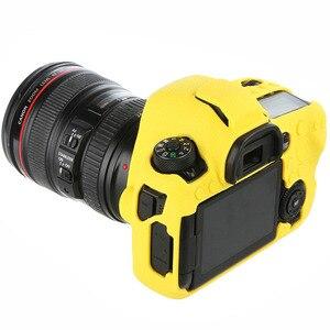 Image 3 - עבור Canon 5D3 5 5DIII 5D4 5DIV 6D2 6DII 80D 90D 1DX 1DX2 1DXII רך סיליקון מצלמה גוף מקרה עור ליצ י מצלמה מגן כיסוי