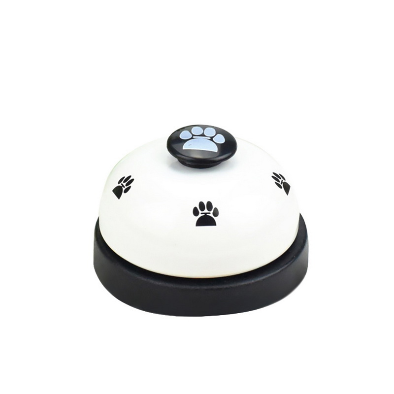 Pet Call Bell Dog Toys IQ Training Dog Cat Feeding Ringer Educational Toy Pets Toys Interactive Bell Eating Food Feeder-4