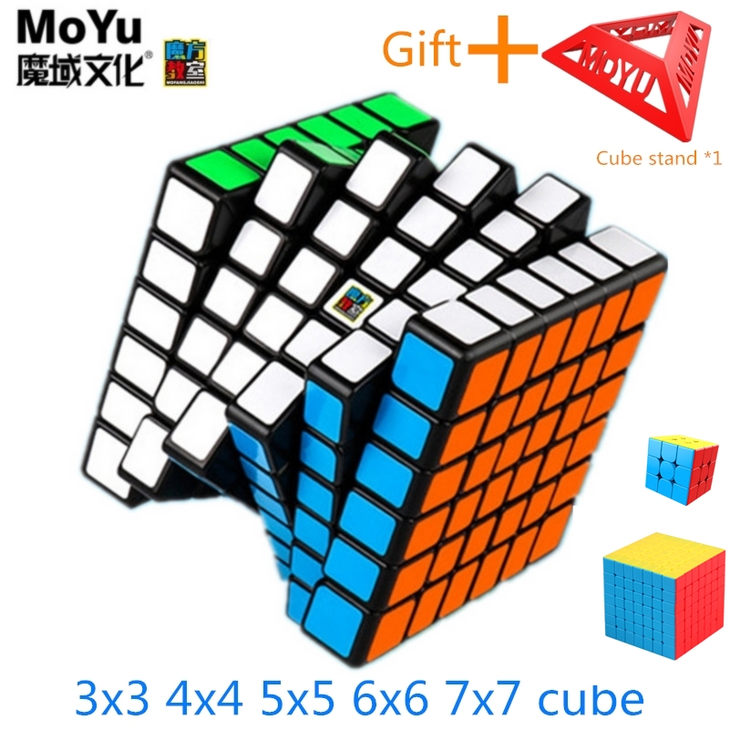 MoYu meilong 6x6x6 неокуб 7x7x7 магический куб 3x3 кубик рубик скоростной куб 7X7 кубик рубика головоломка профессиональный волшебный куб Развивающие иг...