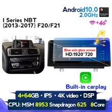 Android 10.0 For BMW F30 F20 F31 F22 F21 F32 F33 F36 Original NBT System Qualcomm Snapdragon 4G Car Stereo Radio Gps IPS Screen