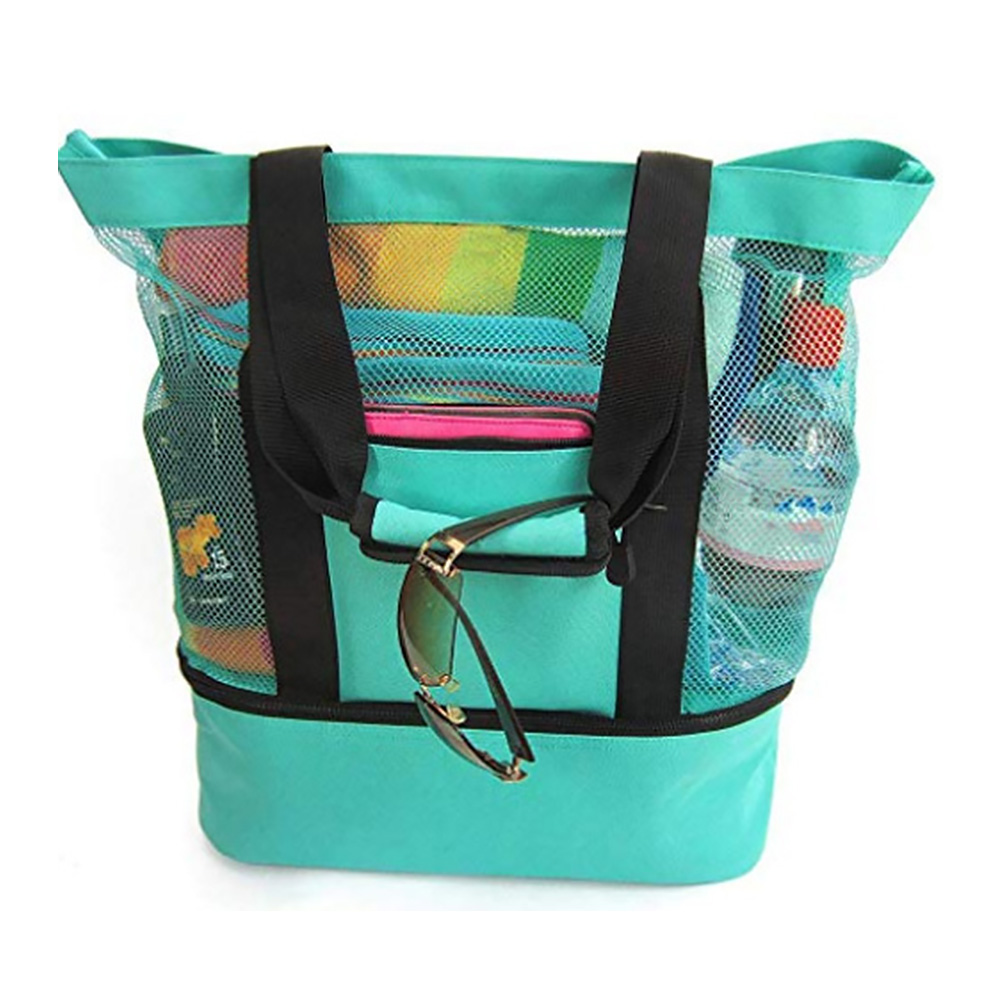 Beach Outdoor Food Fresh Keeping Camping Lunch Bag Portable Heat Preservation Picnic Lightweight With Zipper Multifunction