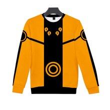 LBG New 3D Print Naruto Sweatshirt Men and Women Fashion Casual Long Sleeve Naruto Long Sleeve Harajuku Long Sleeve 3d graphic print emboss long sleeve sweatshirt