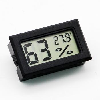 Cyfrowy higrometr cygarowy dokładny uchwyt mechaniczny higrometr Humidor do cygar Humidor gadżet tanie i dobre opinie CN (pochodzenie) XJ-0124 Plastic