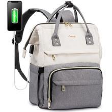 Модные женские сумки-мессенджеры Рюкзак 15,6 дюймов Сумка для ноутбука зарядка через USB путешествия рюкзак Для женщин сумка Мужской школьная ...