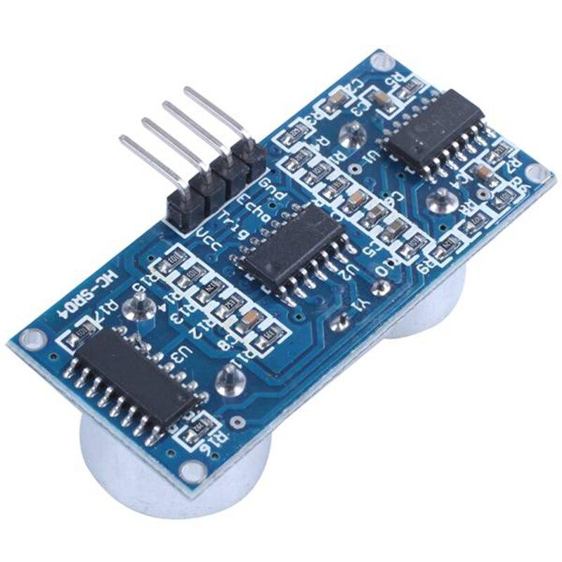 100Pcs Ultrasonica Del Modulo Sensore di Misurazione Della Distanza Ad Ultrasuoni Modulo Ad Ultrasuoni Che Vanno Modulo HC SR04 - 4