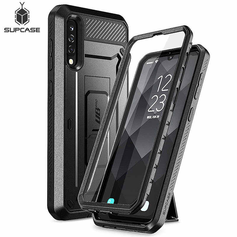 For Samsung Galaxy A50/A30s Case (2019) SUPCASE UB Pro Full-Body Rugged Holster Case with Built-in Screen Protector & Kickstand