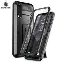 Do etui Samsung Galaxy A50/A30s (2019) SUPCASE UB Pro etui na cały korpus z wbudowanym ochraniaczem ekranu i podstawką