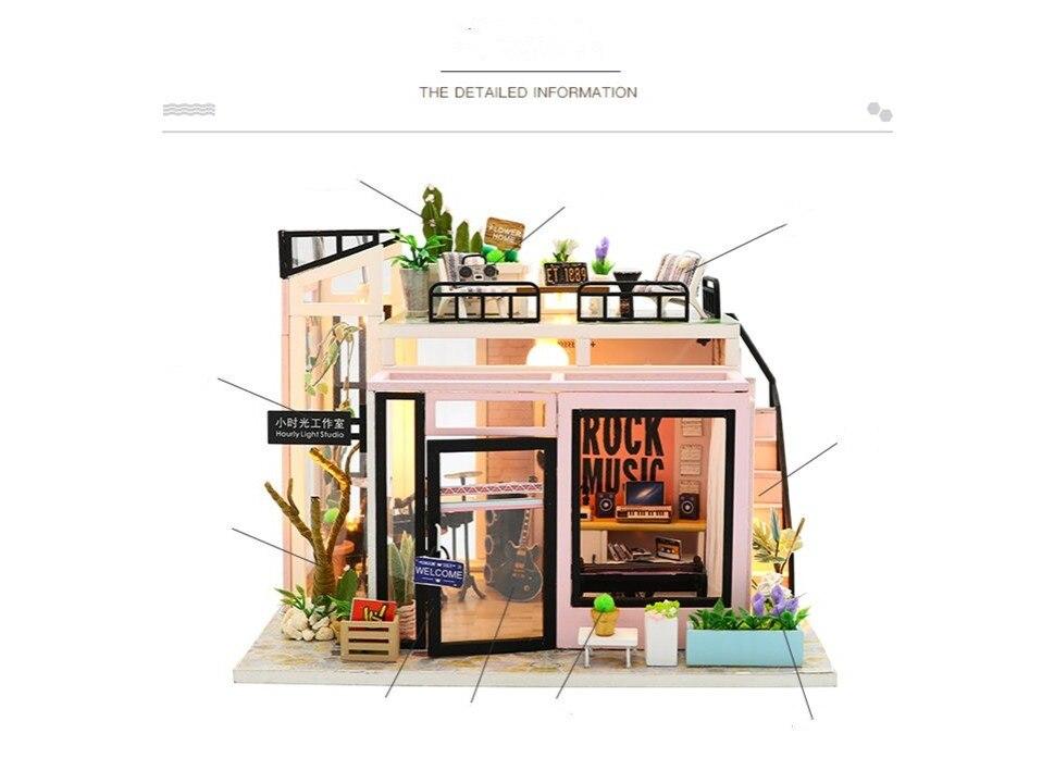Time Studio DIY 3D Dollhouse