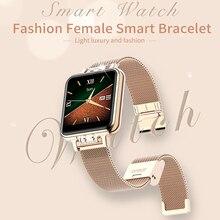 The new female smart watch waterproof heart rate blood pressure sleep monitoring ladies menstrual cycle WeChat reminder K7