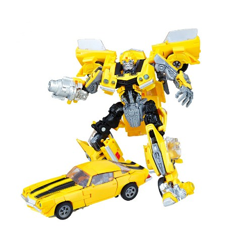 Bumblebee Transformers Series ABS Plastic+alloy Car Robot Anime Character Bumblebee, Stinger, Jazz, Confinement, Cool Toy image
