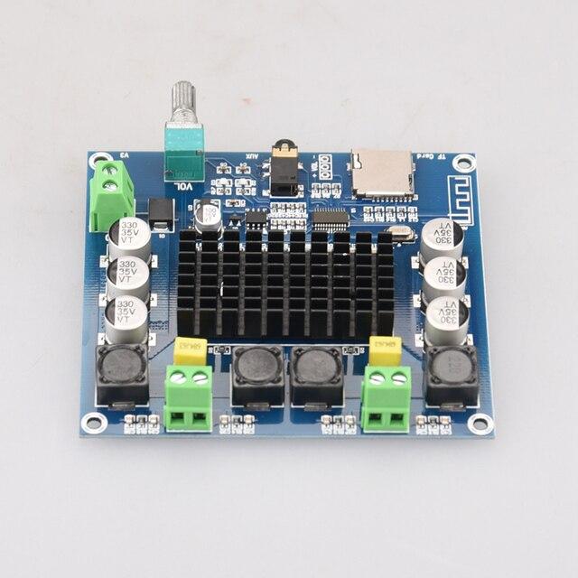 Цифровой усилитель HIFIDIY LIVE XH-A105 Bluetooth 5,0 TDA7498  2x100 Вт 5