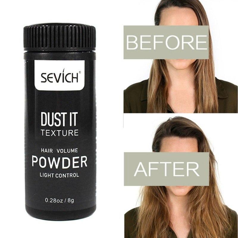 Pro Hair Powder Mattifying Powder Hair Styling Gel Products Oil-absorbing Hair Styling Fluffy Powder