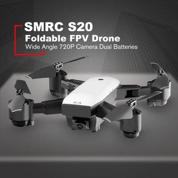 цена SMRC S20 Foldable 6-axis Gyro FPV Drone RC Quadcopter With 360' Flips Wide Angle 720P Camera Altitude Hold Dual Batteries онлайн в 2017 году