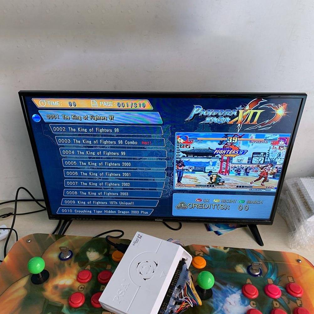 máquina de gabinete jogos de arcade a fichas com vga + hdmi + 3.5mm