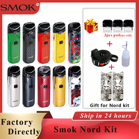Nord Nord Pod pod Smok Kit 1100mAh Vape & 3ML Pod pod Do Cartucho Do Cigarro Eletrônico caneta vape kit vs Smok Novo kit vapor