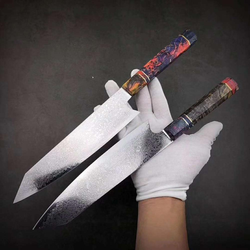 Japanese Damascus Steel Chef Knife 1