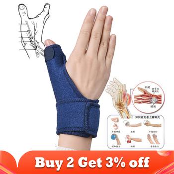 Kciuk korekta bandaż orteza pas kciuk szyny wsparcie Brace pasek mocujący ulga w bólu kciuk wspólne ochrona palec rękaw tanie i dobre opinie ophax CN (pochodzenie) Materiał kompozytowy HA0699 Kości Opieki Szelki i obsługuje Muscle Pain Relief Muscle Strengthening Belt