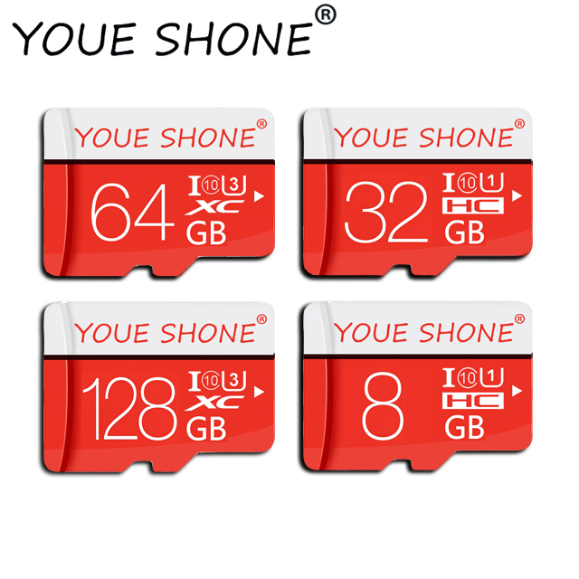 Newest Micro Sd Card 8GB 16GB 32GB C10 SDHC Flash Memory Card 64GB 128GB C10 SDXC Micro Card For Phone Or Camera