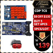 5 шт./лот CDP TCS Pro plus OBD Bluetooth,00 keygen программное обеспечение Автомобильный грузовик диагностический инструмент obd2 сканер Код считыватель PK MVD