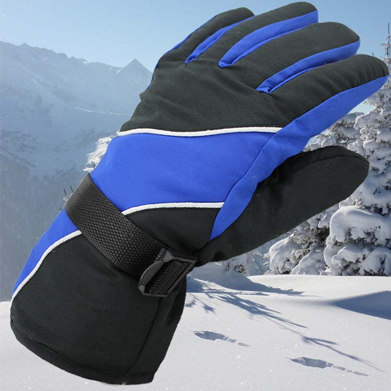 Winter Cycling Gloves Men And Women Fleece Windproof Warm Touch Outdoor Gloves