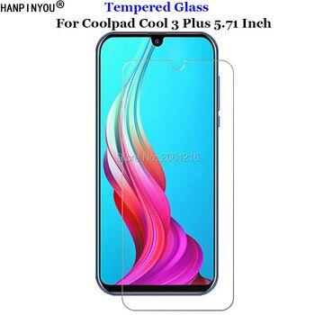 Перейти на Алиэкспресс и купить Для Coolpad Cool 3 Plus переднее жесткое закаленное стекло 9H 2.5D Премиум-защита для экрана Защитная пленка Coolpad Cool 3 Plus 5,71дюйм