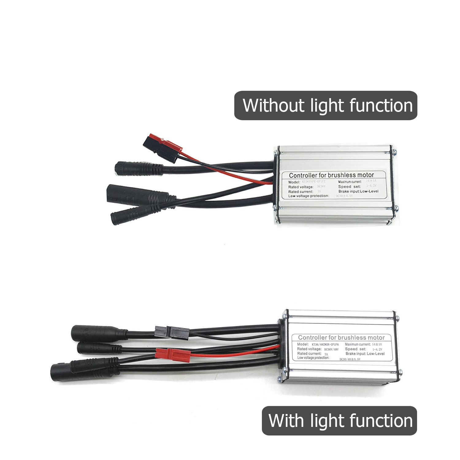 Square Wave Tube Controller 36//48V 500-750W KT-22A SM Electric Bicycle Equipment