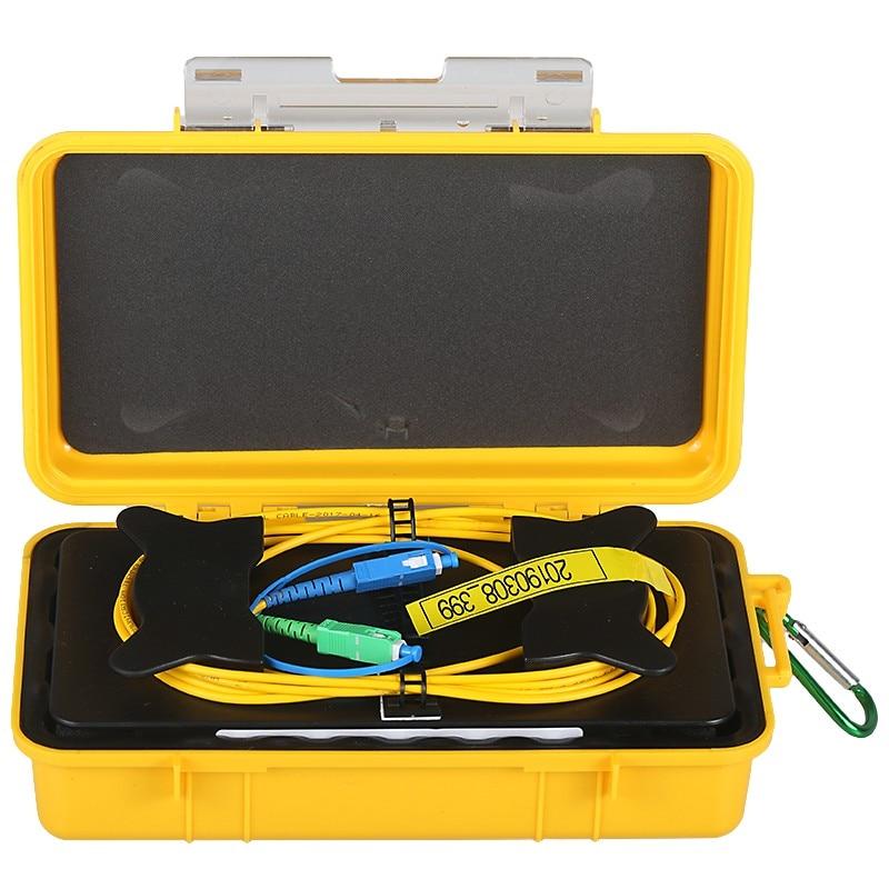 SC/UPC-SC/APC OTDR Dead Zone Eliminator,Fiber Rings ,Fiber Optic OTDR Launch Cable Box 1km SM 1310/1550nm Tool
