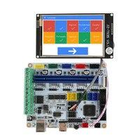 טוב באיכות 3D מדפסת האם F5 V1.1 + 3.5 אינץ Wifi קשר צבע מסך 9 שפות במקום Mks בסיס-בחלקים ואביזרים למדפסת תלת-ממד מתוך מחשב ומשרד באתר