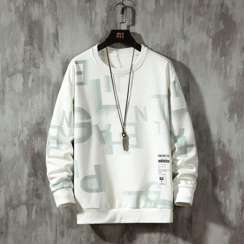 Streetwear Men Hoodies Sweatshirts Casual Letter Printing Sweatshirt Men 2020 Spring Pullover Hoodies