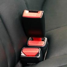 Universal Auto Car Seat Belt Buckle Clip Extender Car Socket Safety Belt Buckles Extender Extension Car Accessories