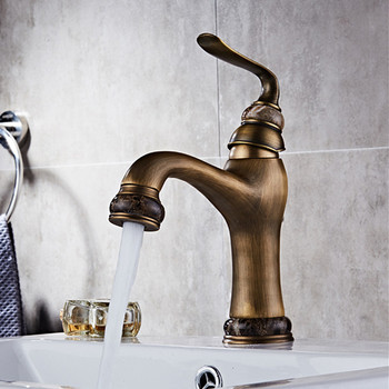 Basin Sink Faucet Water Mixer Water Tap Toneir Bath Faucet Brass Bathroom Mixer Tap Wash Basin Mixer Taps Bathroom Toneira basin faucets bath antique finish brass water tap bathroom basin sink faucet vanity faucet wash basin mixer taps crane 6633