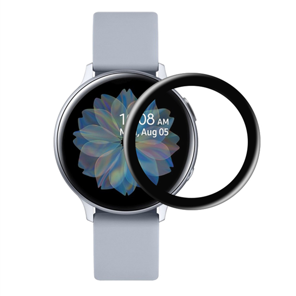 For Galaxy Watch Active2 44mm Screen Protector Full Coverage Tempered Glass Film For Samsung Active 2 40mm Anti-Scratch Cover