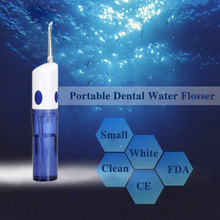 купить Tackore Portable Dental Water Flosser Electric Oral  Irrigator Rechargeable Waterproof Teeth Tooth Mouth Cleaner по цене 1127.42 рублей