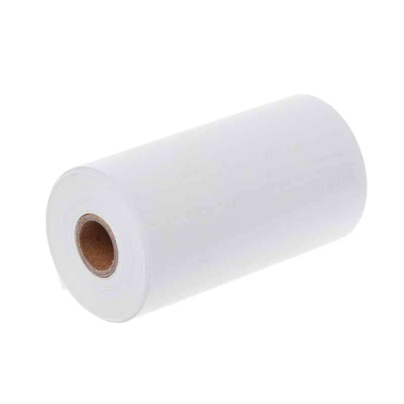 Papel fotográfico Mini pegatina imprimible rollo impresoras térmicas claro impresión a prueba de manchas portátil