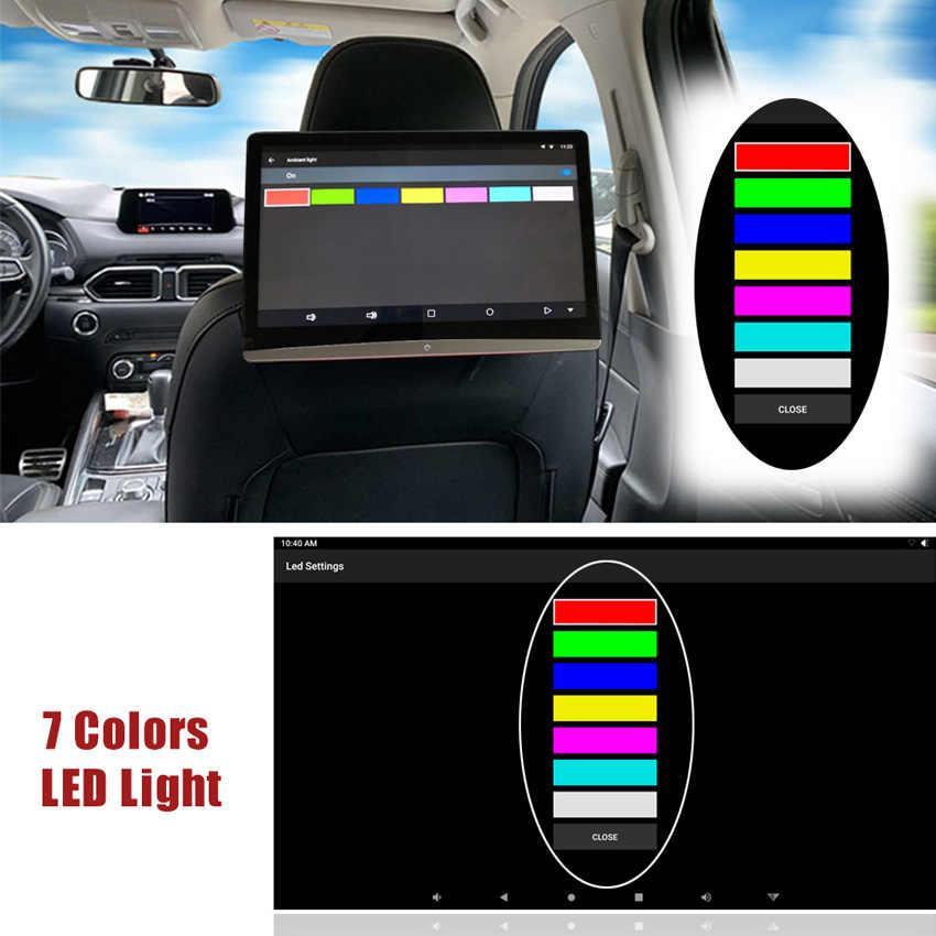 KANOR 12.5 pouces Android 9.0 voiture appuie-tête moniteur 1920*1080 HD 1080P vidéo écran tactile WIFI BT USB SD HDMI FM MP5 lecteur vidéo