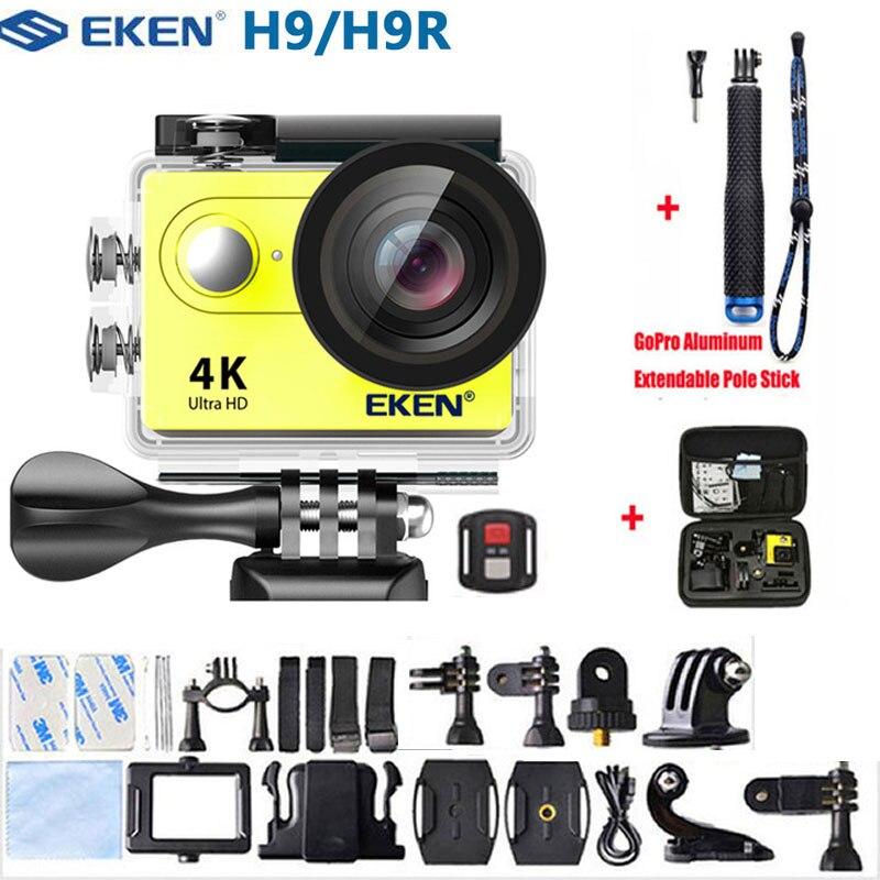 EKEN H9R Экшн-камера 4K 30FPS Ultra HD WiFi 2,0 170D подводный водонепроницаемый шлем видеокамеры go Спортивная камера extreme pro