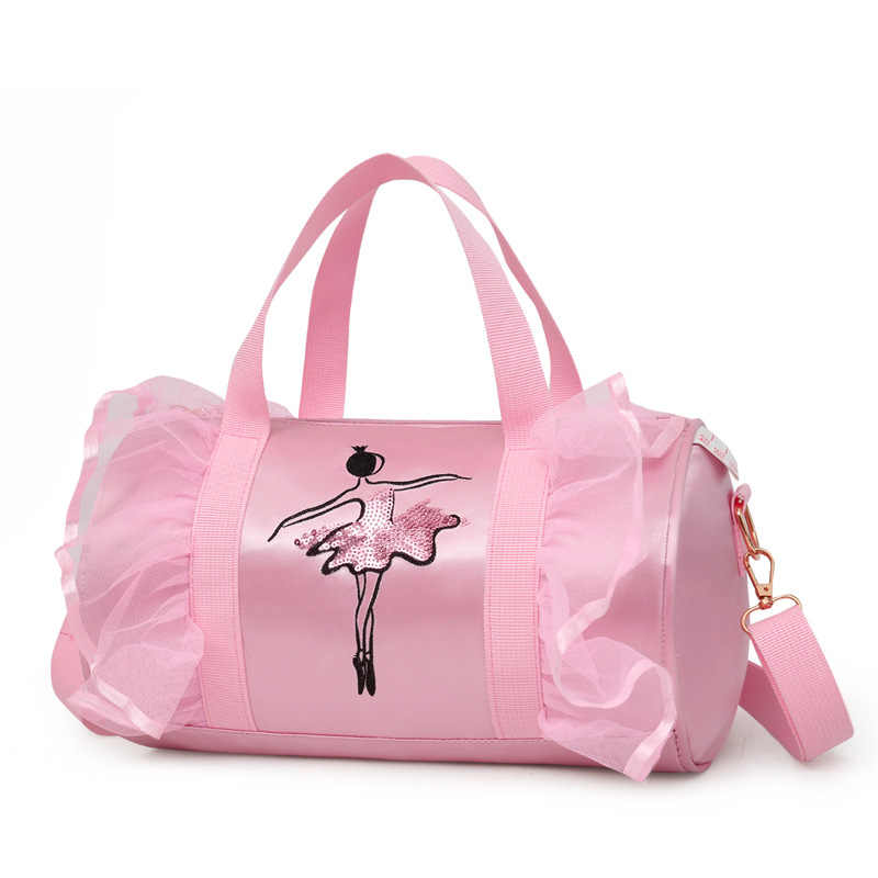2018 New Style wu dao bao Fashion Children Women's Korean-style Shoulder Ballet Dancing Bag Logo