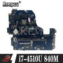 Z5WAH LA-B162P/LA-B991P NBMLC11004 NB MLC11.004 placa base para acer aspire E1-572G E5-571 E5-571G placa base i7-4510U CPU 840M(China)