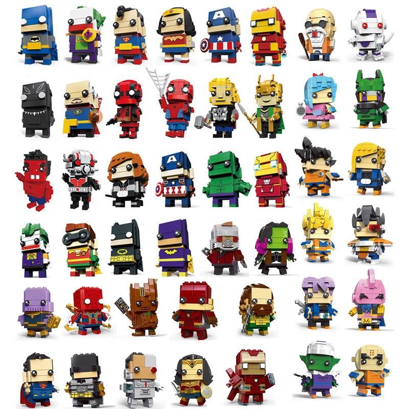 Совместимость brickheadz фигурки super hero Хранители