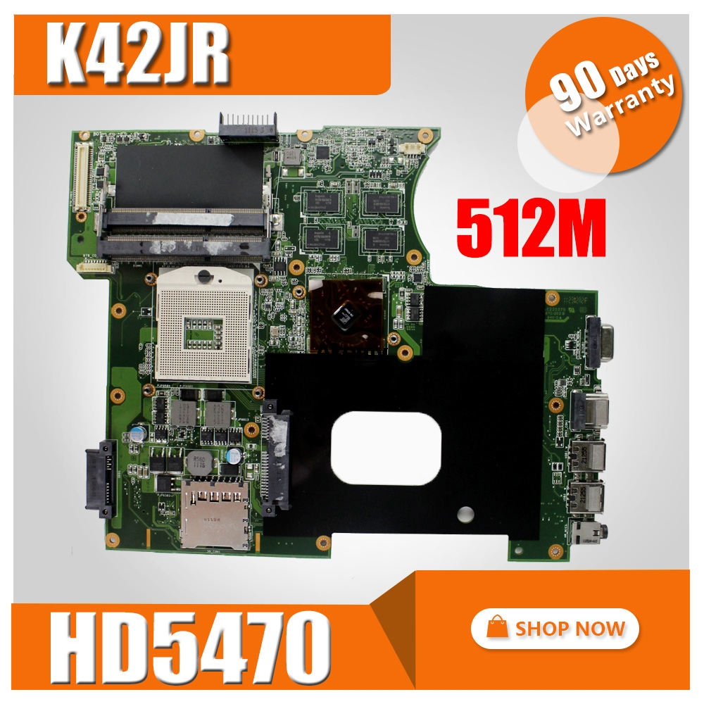 1GB-HD5470 K42JZ Laptop for ASUS K42jz/K42jb/K42jy Mainboard Rev-4.0
