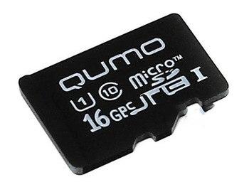 Memory card 16GB-qumo microSDHC Slass 10 UHS-I 3.0 qm16gmicsdhc10u1na (original!)