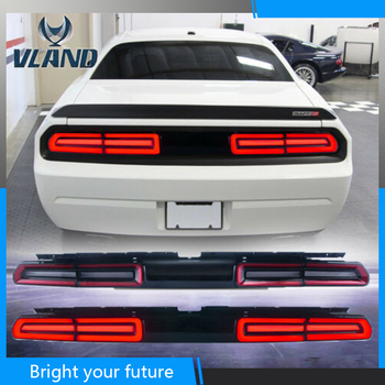 New Type LED Tail Lamp for Dodge Challenger Tail Light 2008-2014 with Red Sequential Indicator