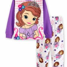 Kids boy girl clothing pajamas set 100% Cotton 2019 Fall Win