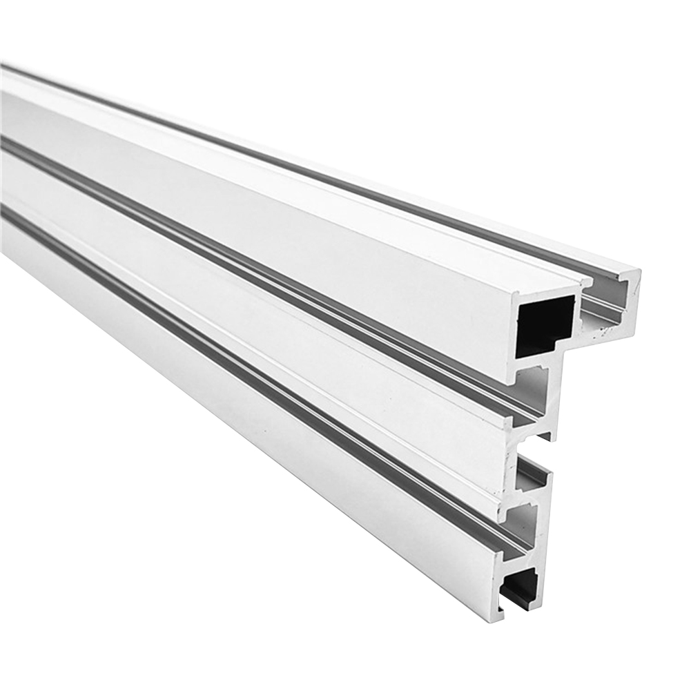 400mm 75 Type Modified DIY For Router Table Fixture Miter Track Jig Stop Aluminium Alloy Woodworking Tool T Slot Workbench Fence