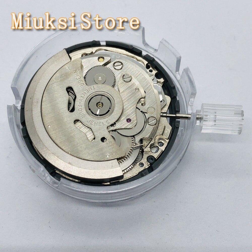 Japão nh36 nh36a alta qualidade movimento mecânico